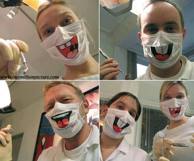 funny people doctors mask