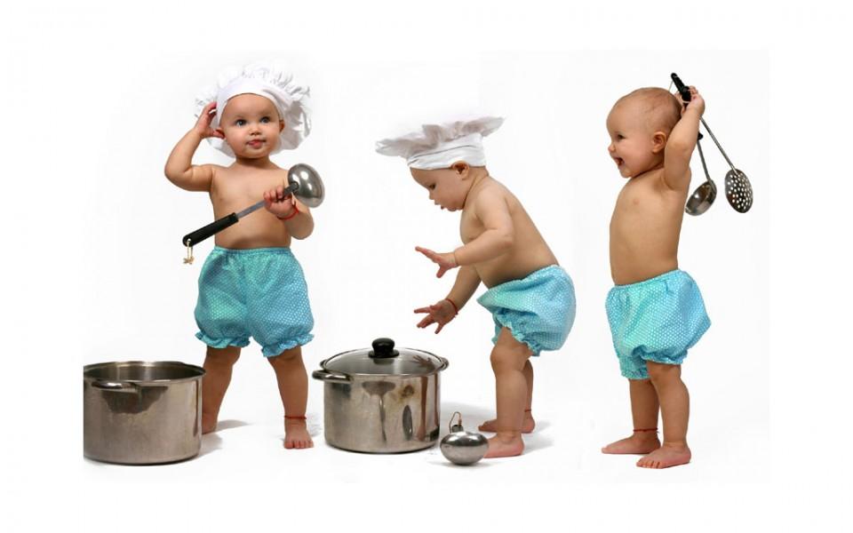 funny kids little chefs
