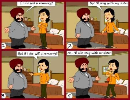 funny cartoon marriage jokes