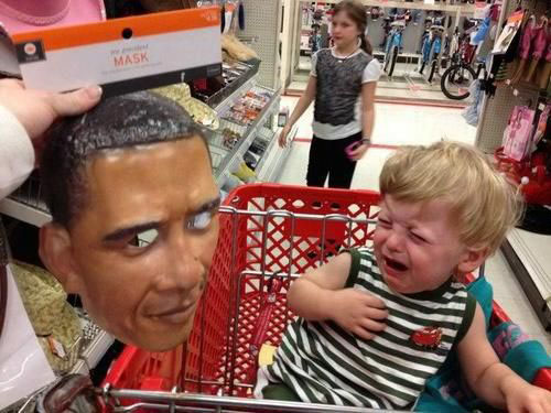 funny obama kids crying