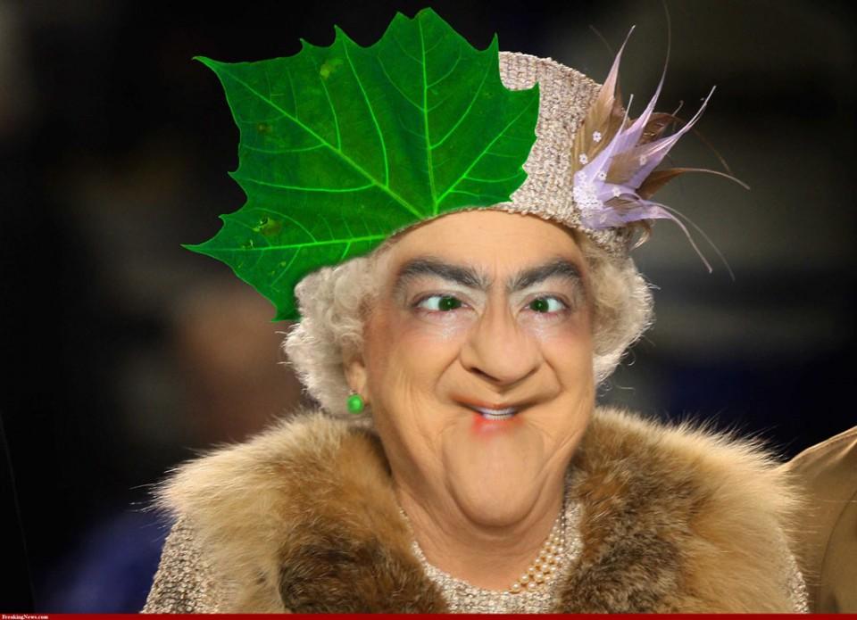 funny photomanipulation queen elizabeth