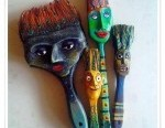 funny-sculpture-brush-family