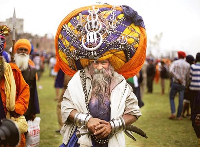 funny world record heaviest turban by avtar singh mauni