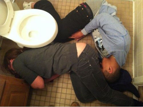 failed funny drunk people in toilet