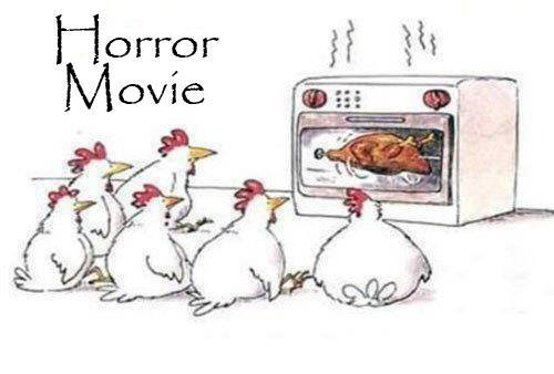 funny cartoon horror movie