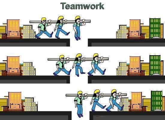 funny team work