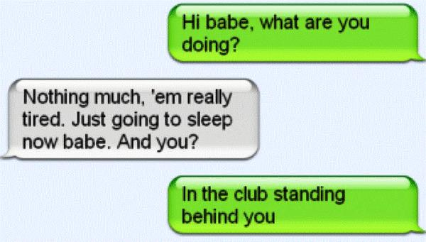 funny text fails at the club