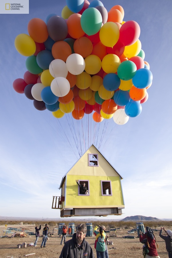 inspiring balloons house