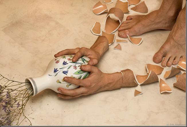 beautiful picture broken hand