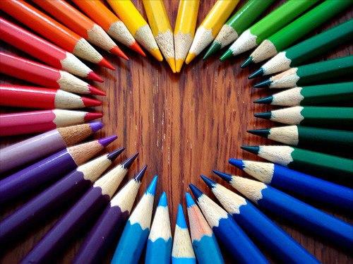 pencil amazing heart art