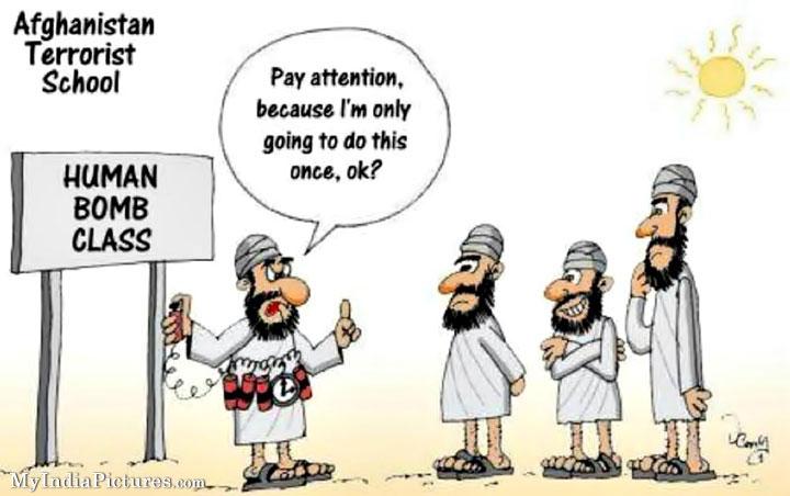 funny cartoon terrorist