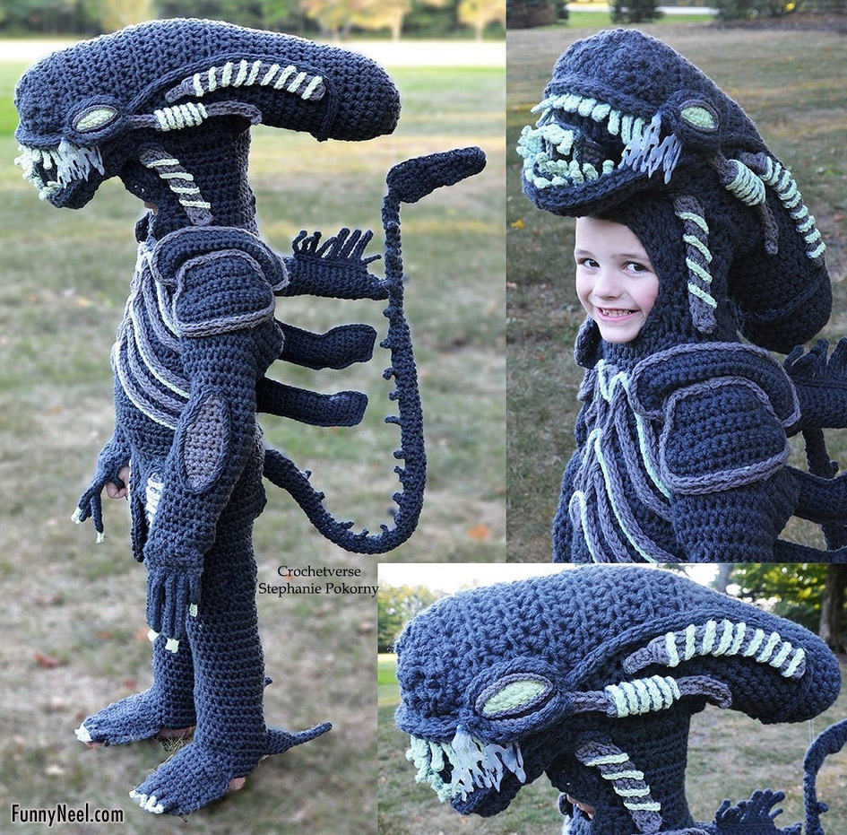 alien cosplay photography fancy dress