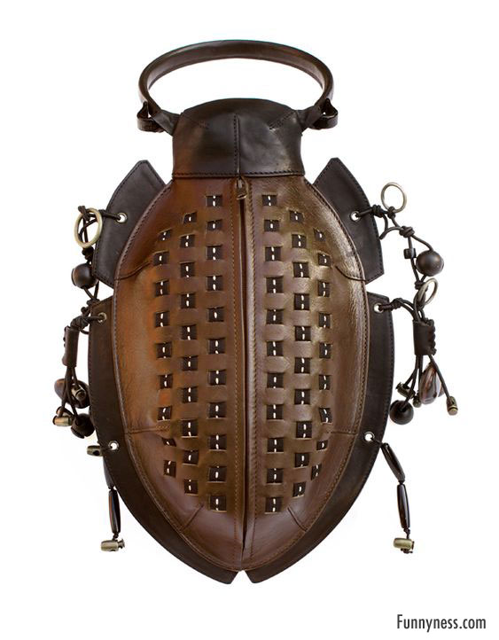 crazy beetle handbag