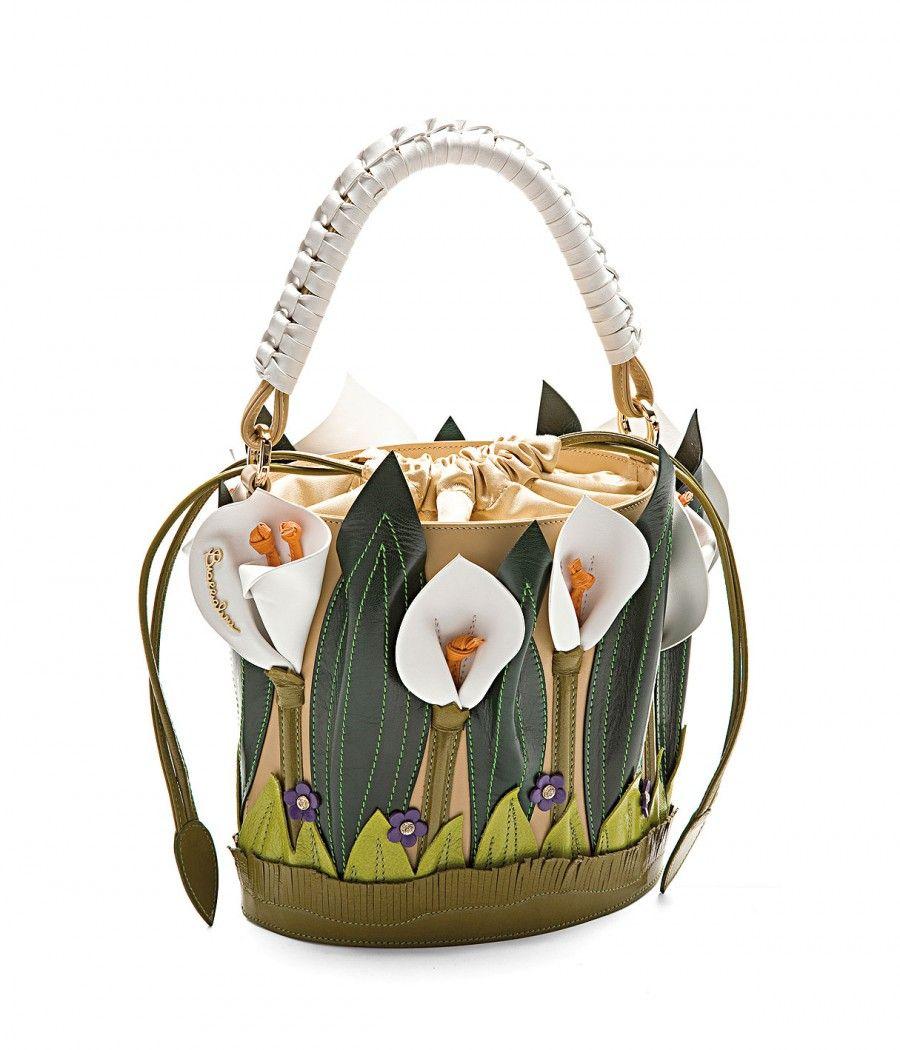 cute ladies handbag tulip