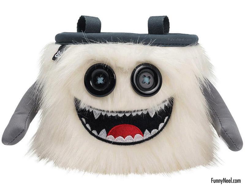 funny handbag with ghost design