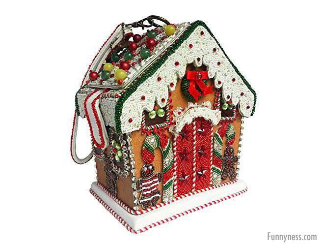 funny handbag ladies christmas house