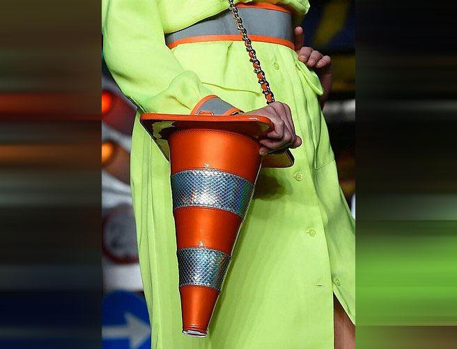 funny handbag ladies crazy cone
