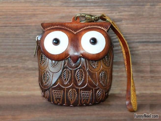 funny handbag ladies crazy owl