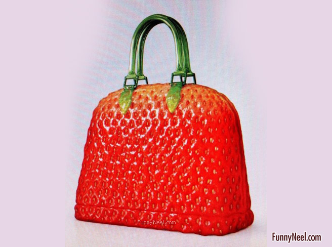 funny handbag ladies crazy staberry bag