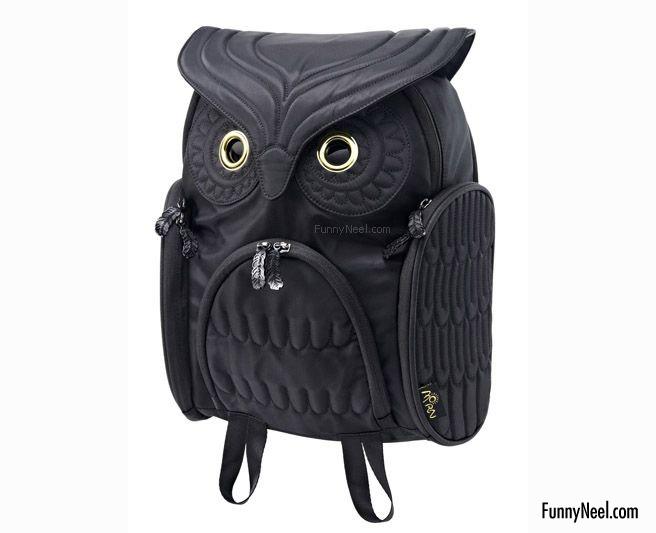 funny handbag ladies funny black owl