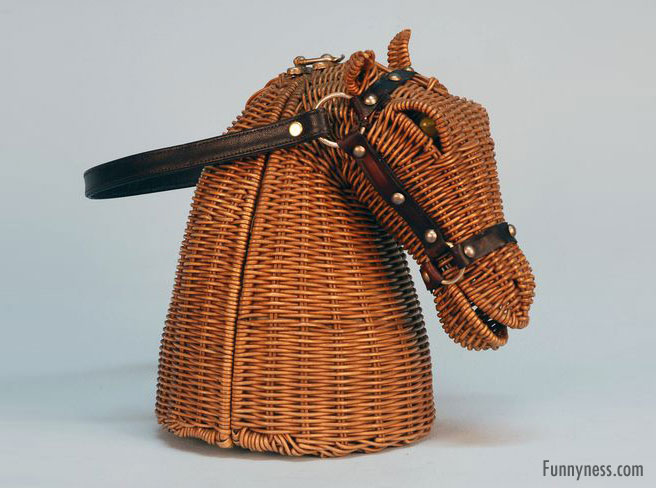 funny handbag ladies horse
