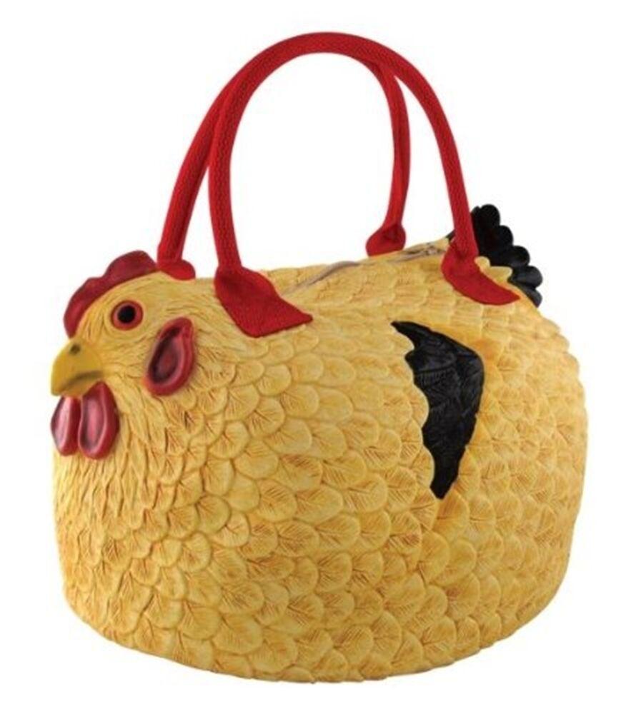 funny handbag ladies rooster