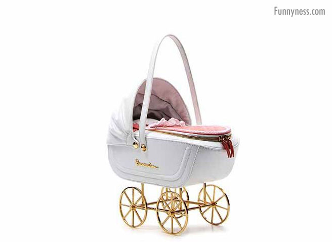 funny handbag ladies stroller
