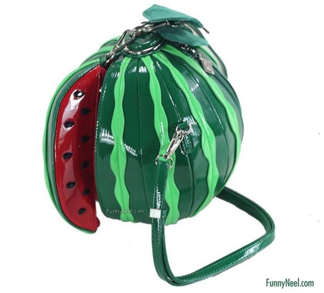 funny handbag ladies water melon