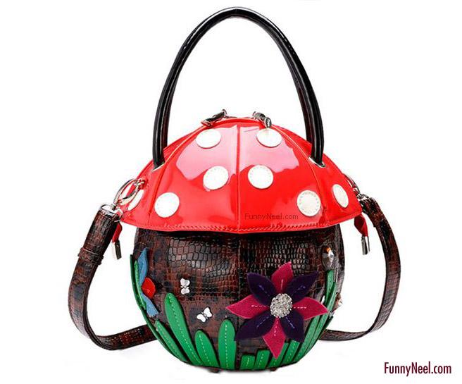 funny ladybug model bag