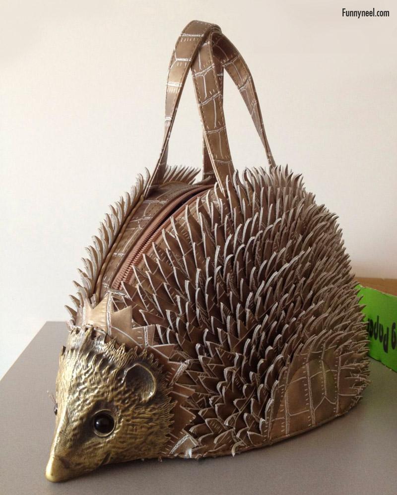 wierd mouse purse
