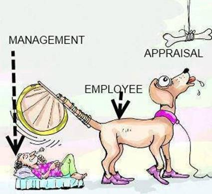 funny cartoon management