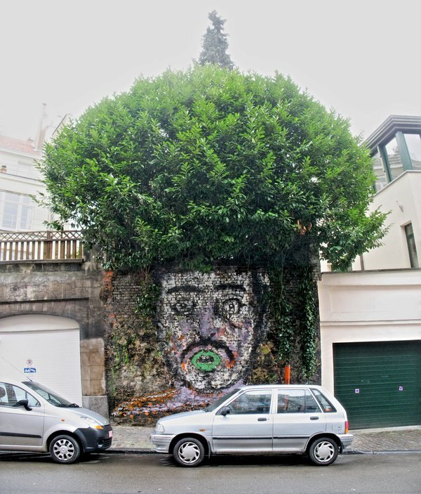 street art tree
