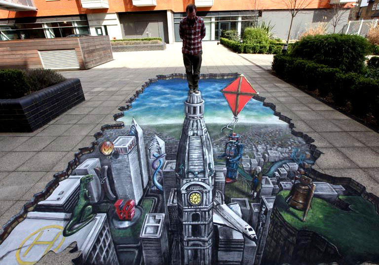 amazing beautiful street art