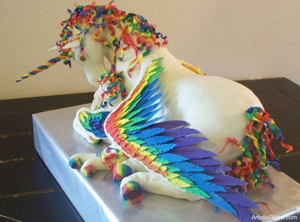 amazing horse cake