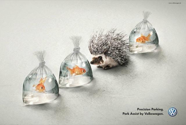 creative ad for volkswagen