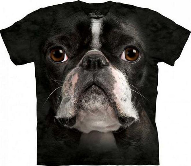 3d dog face tshirts