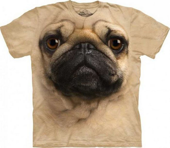 3d dog face tshirts -  12