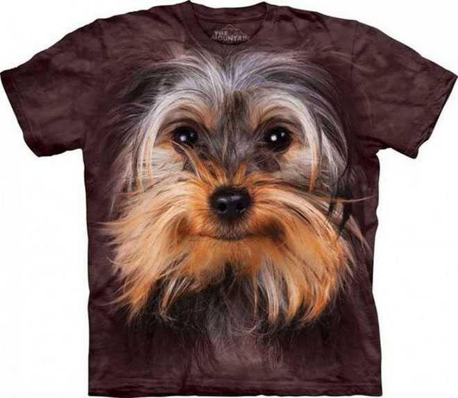 3d dog face tshirts -  15