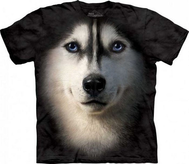 3d dog face tshirts -  16