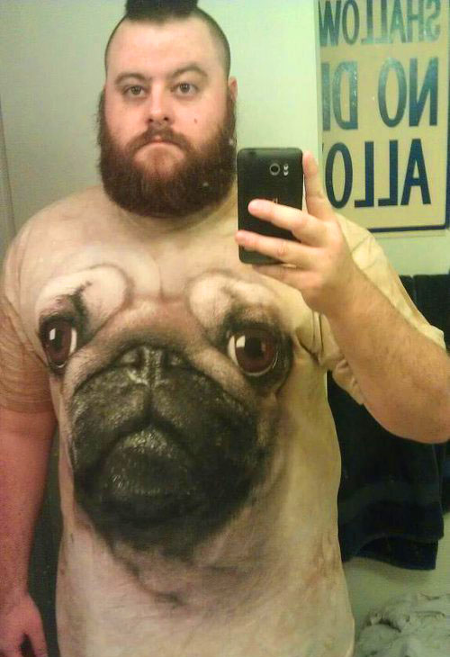 3d dog face tshirts -  20