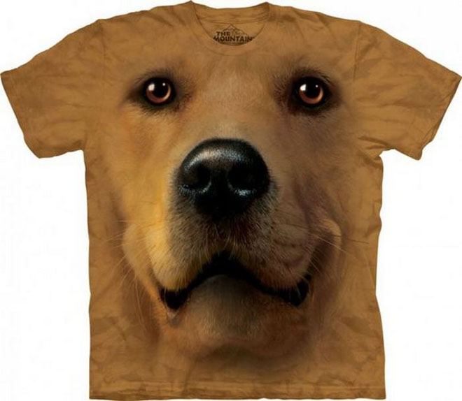 3d dog face tshirts -  5