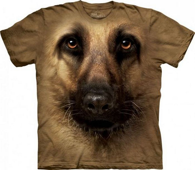 3d dog face tshirts
