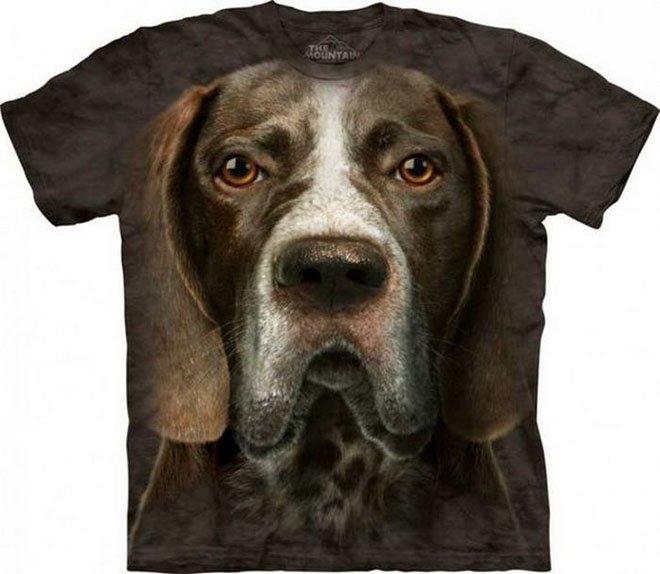 3d dog face tshirts -  8