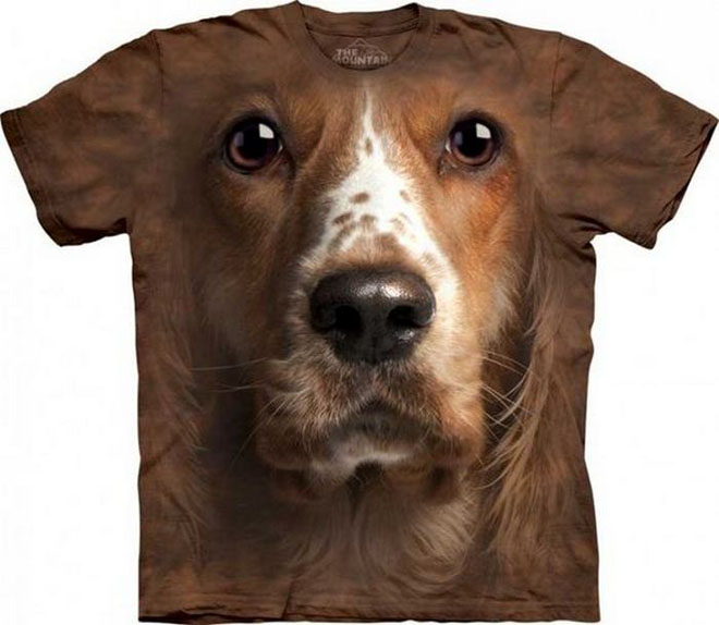 3d dog face tshirts -  9