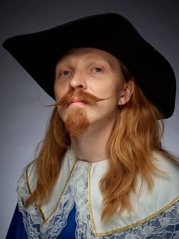 funny beard moustache pirate