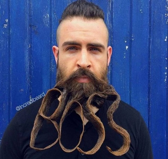 funny beard moustache boss by incredibeard