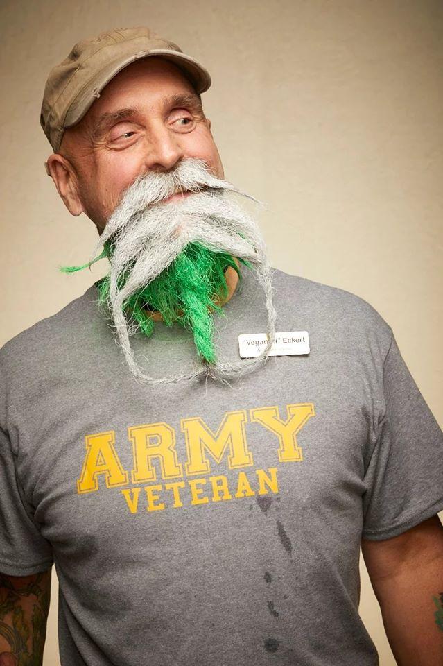 funny beard moustache green beard
