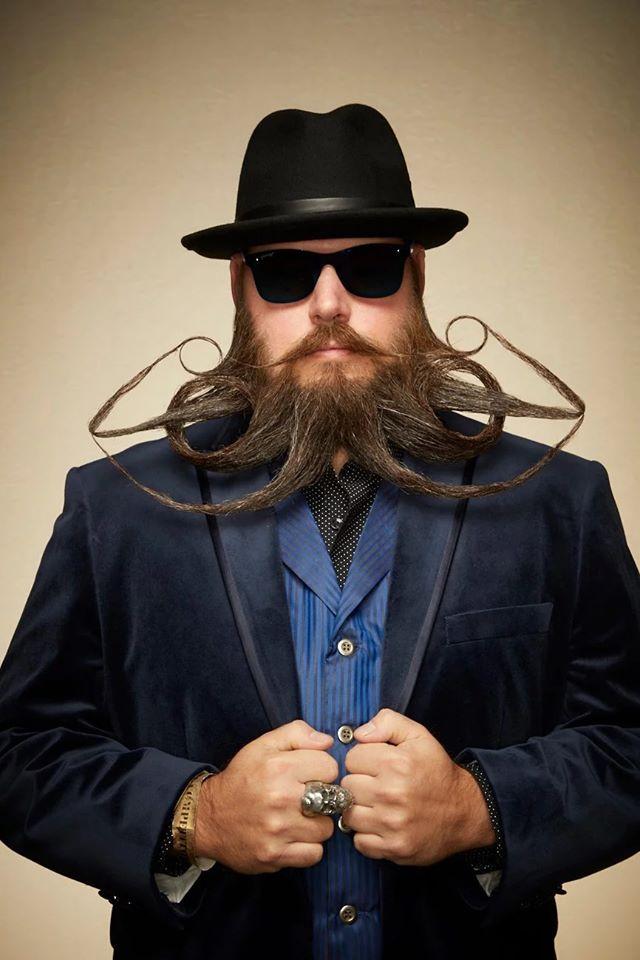 funny beard moustache