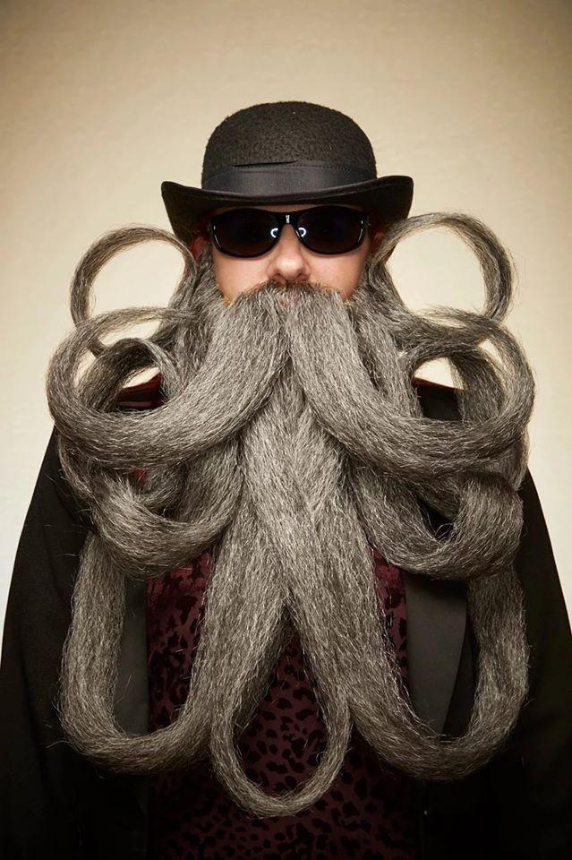 funny beard moustache long beard
