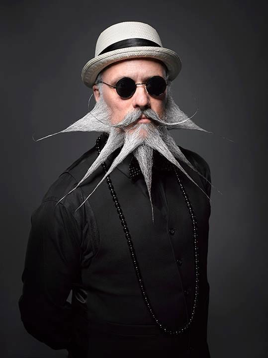 funny beard moustache frozen by incredibeard